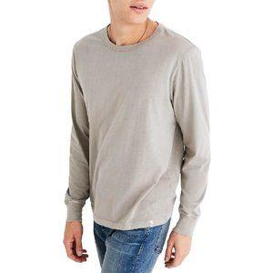 Madewell Garment Dye Daily Crewneck Long Sleeve